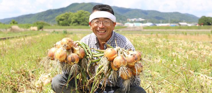 生産者のてっちゃんこと濱田哲司さん