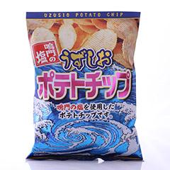 鳴門の塩 うずしおポテトチップ(120g)_item
