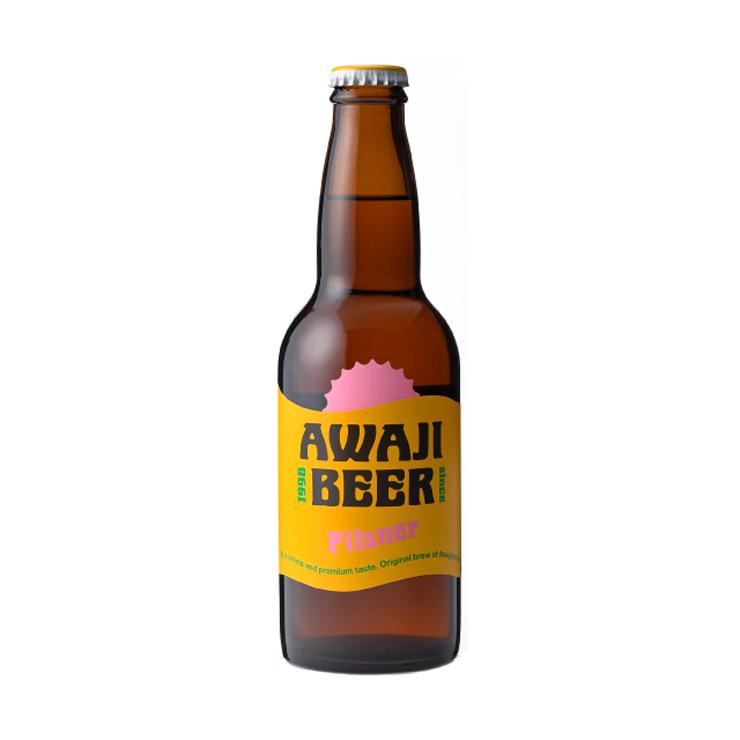 あわぢびーる ピルスナー 淡路島唯一のクラフトビール